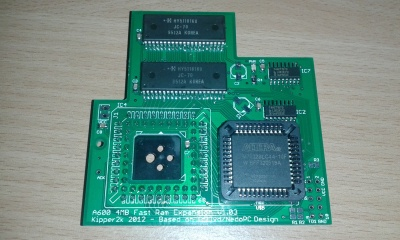 A600 4MB Fast Ram Memory Expansion board by Kipper2k